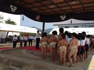 第29回全淡ちびっ子相撲大会