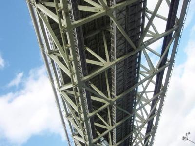 明石海峡大橋管理路の一部開放実験