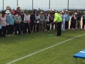 第5回淡路市民体育祭兼淡路市長杯グラウンドゴルフ大会 原テツアキ