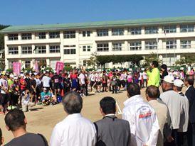 第30回淡路国生みマラソン全国大会 猫ひろしさんら参加