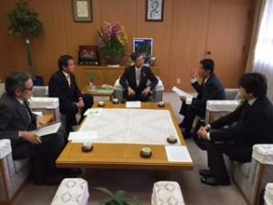 金澤兵庫県副知事に要望
