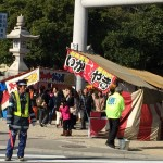 平成28年度伊弉諾神宮での清掃活動と移動県政相談
