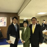 山東明子先生と小泉進次郎先生