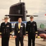 潜水艦「はくりゅう」艦内視察