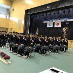 淡路市内5中学校で卒業式