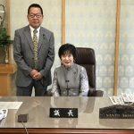 山東昭子参議院議長と面談